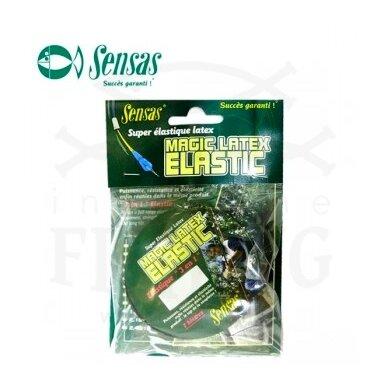 Amortizacinė guma MAGIC LATEX ELASTIC 700% 1,20 mm, 7 m, Nr. 8