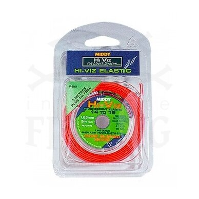 Amortizacinė guma MIDDY 5 m / 1,30 mm Klasė 8-10
