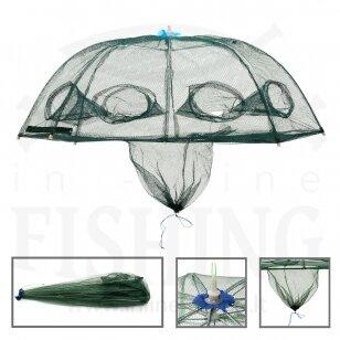 Aštuoniakampis sietelis / bučiukas su skėčio mechanizmu Ø 90 cm