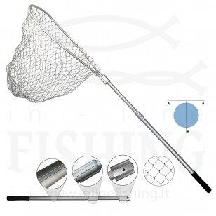 Aukštos kokybės duraliuminio lydinio graibštas (teniso raketė), 209 cm