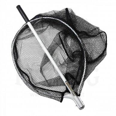 Aukštos kokybės Jaxon graibštas, aliuminio rankena, gumuotas 1,23 m 5