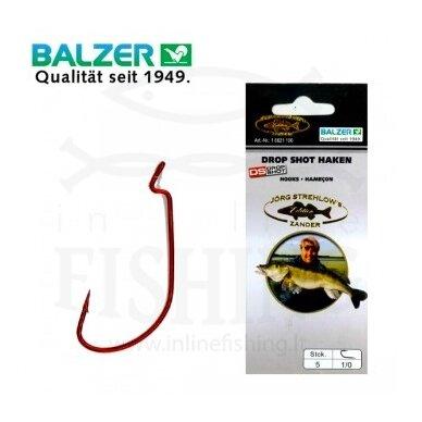 BALZER DROP SHOT 16621, Dydis 1/0, 5 vnt