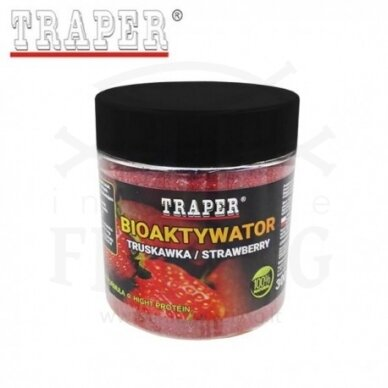 Bioaktyvatorius TRAPER Braškė 300 g