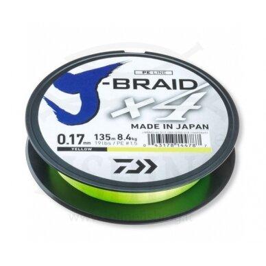 Daiwa J-Braid X4 270 m