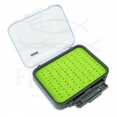 Dėžutė JAXON dirbtiniams masalams Fly Box Multi 4S 13 x 10 x 4 cm 2