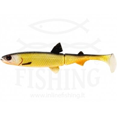 Dirbtinis masalas HypoTeez ShadTail Official Roach 13 cm, 14 g
