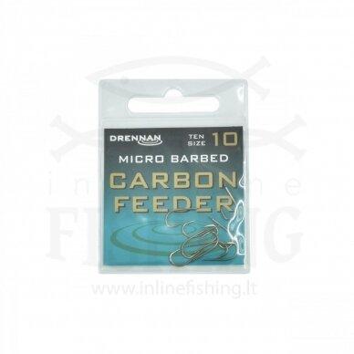 DRENNAN Carbon Feeder kabliukai #10, 10 vnt