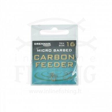 DRENNAN Carbon Feeder kabliukai #16, 10 vnt