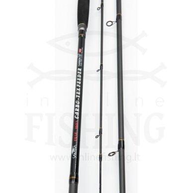 Dugninė meškerė SAKANA Carbo-Tex Feeder 3,60 m, 120 g, 3+3 3