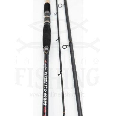 Dugninė meškerė SAKANA Carbo-Tex Feeder 3,60 m, 120 g, 3+3 4