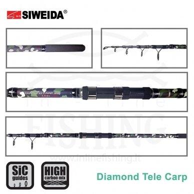 Dugninė Siweida Diamond Carp Tele 3,5 lbs, 3,90 m 2