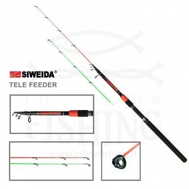 Dugninė Siweida Travel Feeder 120 g, 3,60 m
