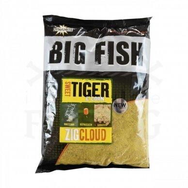 Dynamite Baits Big Fish Sweet Tiger & Corn Zig Cloud 1,8 kg