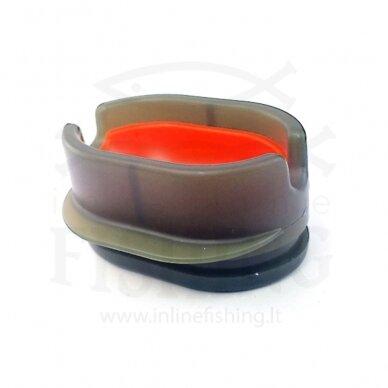 Forma šėryklai su mygtuku, Orange