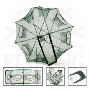 Greito surinkimo / išrinkimo aštuoniakampis sietelis / bučiukas Ø 80 cm