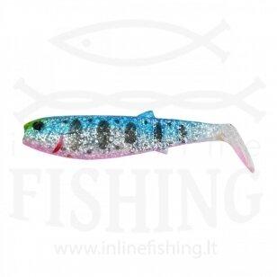 Guminukas CANNIBAL 15 cm, 33 g, Blue Pink Smolt UV
