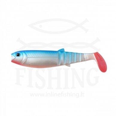 Guminukas CANNIBAL 8 cm, 5 g, Blue Pearl
