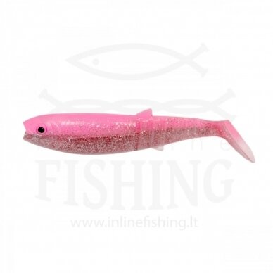 Guminukas CANNIBAL 8 cm, 5 g, UV Pink