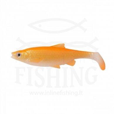 Guminukas Roach Swim & Jerk 7,5 cm, 5 g, Goldfish