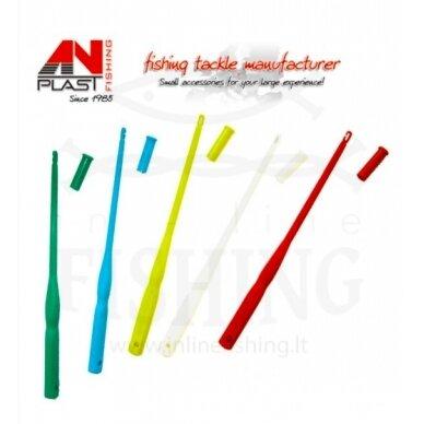 Įrankis kabliukui ištraukti su dangteliu, plastikinis