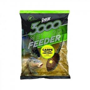 Jaukas Sensas 3000 Method Feeder Carp Yellow 1 kg