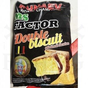 Jaukas Dunaev MS Factor Double Biscuit (dvigubas biskvitas) 1 kg