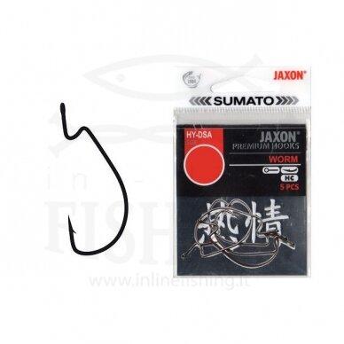 Kabliukai Sumato Spin Hook HX #6, 5 vnt