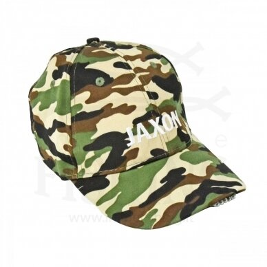 Kepurė klasikinė su LED JAXON