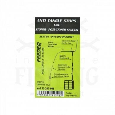 Lorpio Anti Tangle Stops Fine, Ø0,16-0,22 mm, 8 vnt 3