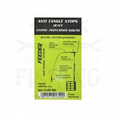 Lorpio Anti Tangle Stops Heavy, Ø0,24-0,30 mm, 8 vnt 3