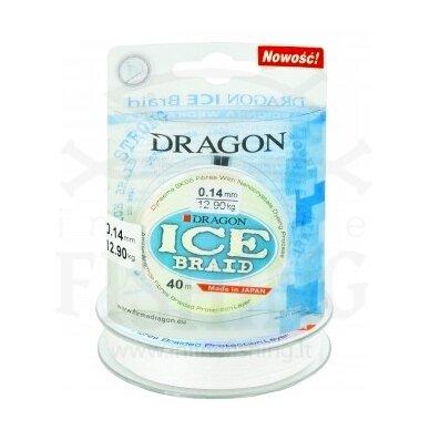 Pintas valas Dragon ICE Braid Ø 0,14 mm, 40 m, 12,90 kg