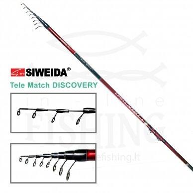 Plūdinė meškerė Siweida Discovery Tele Match 390 IM8