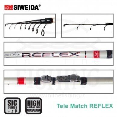Plūdinė meškerė Siweida Reflex Tele Match 4,20 m, 30 g 2
