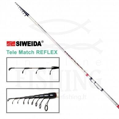 Plūdinė meškerė Siweida Reflex Tele Match 4,20 m, 30 g