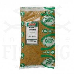 Priedas jaukui Sensas Biscuit Gras Fin 1 kg