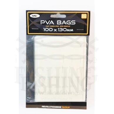 PVA maišelis NGT 100 x 130 mm. Pakelyje 20 maišelių
