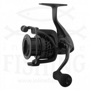 Ritė Okuma Custom Black Feeder CLX-55F 7 BB + 1 RB