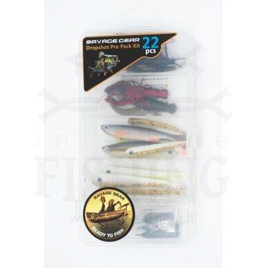 Rinkinys Savage Gear Dropshot Pro Pack Kit 22 vnt 3