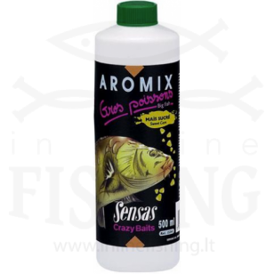 Sensas Aromix Gros Poissons Mais Sucre koncentratas, 500 ml