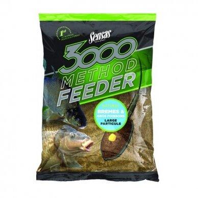 SENSAS 3000 Method Bream + Big Fish 1 kg 2