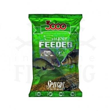 SENSAS 3000 SUPER FEEDER ETANG 1 kg