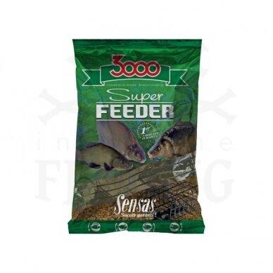 SENSAS 3000 SUPER FEEDER RIVER BLACK 1 kg