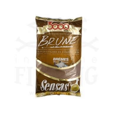 SENSAS BRUNE BREME 3000 1 kg