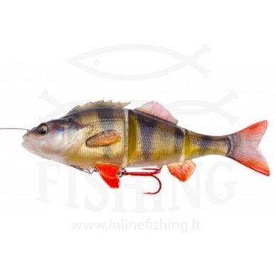 Silikoninis Savage Gear 4D Line Thru Perch Slow Sink 17 cm, 63 g