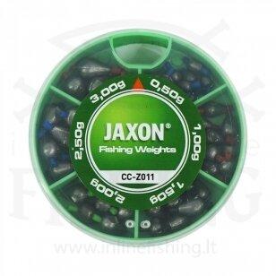 Slankiojančių svarelių komplektas Jaxon Nr. 11