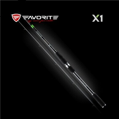 Spiningas Favorite X1 802MH 2,44 m, 12-35 g