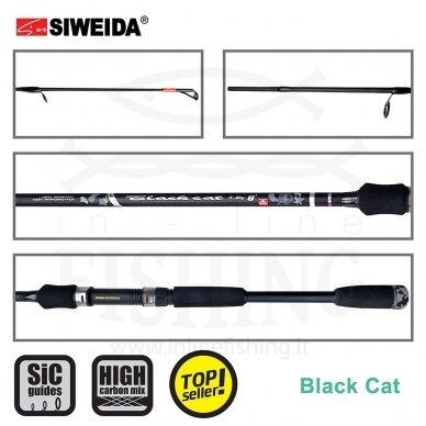 Spiningas Siweida Black Cat Spin 15-40 g, 2,10 m 2