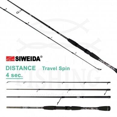 Spiningas Siweida Distance Travel Spin 10-42 g, 2,60 m