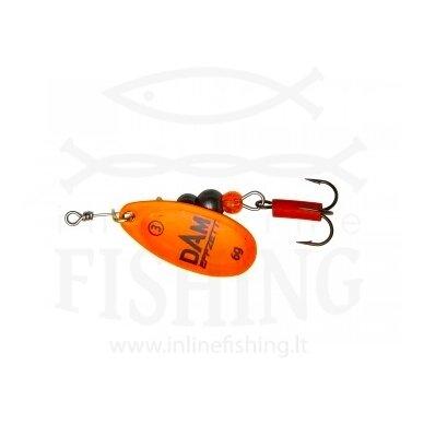 Sukriukė DAM EFFZETT® Fluo Spinner Orange #1, 3 g