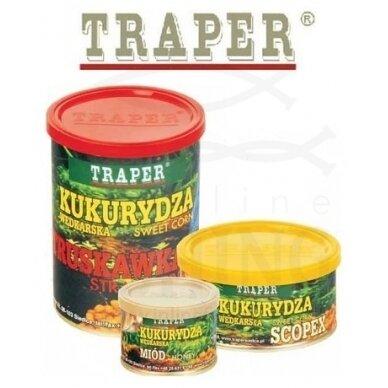 Traper koncervuoti kukurūzai Vanilė 140 g